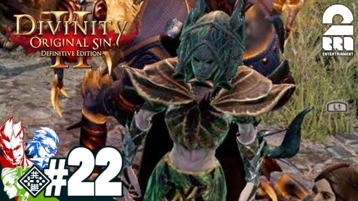 #22【RPG】弟者,兄者,おついちの「Divinity :Original Sin 2」【2BRO.】