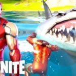 新シーズンでアイアンマンをゲットしたらサメに喰われて笑う【 フォートナイト / Fortnite 】