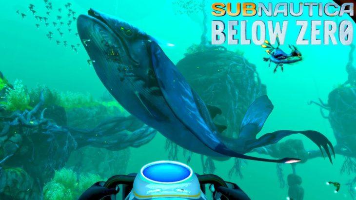 謎の事故で大破した深海の基地へ!そして大事件が起きてしまった – Subnautica: Below Zero #5