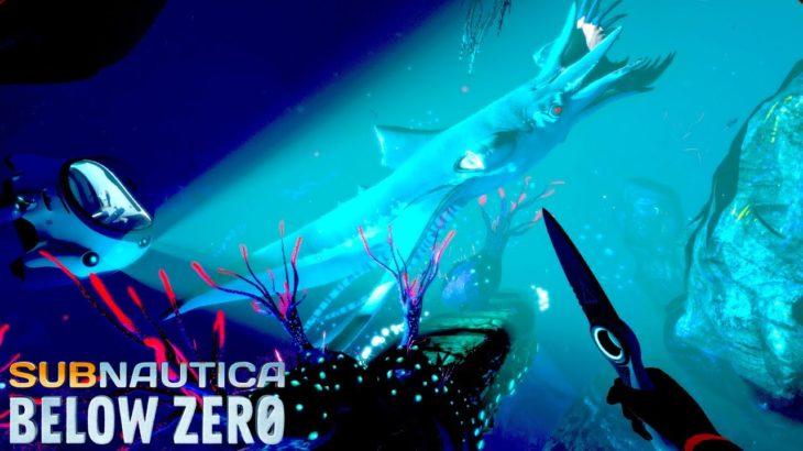 未知の水深400mでとんでもない生物に襲われる…!そして拠点が完成 – Subnautica: Below Zero #4